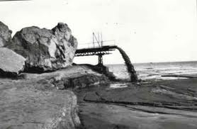 Imagen de la bahía de Portmán en los años 60